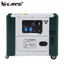 air cooled 5000KW silent diesel power man generator