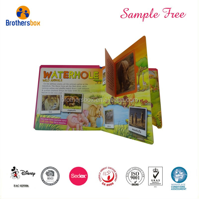 Custom Recordable Children Educational Baby Story Book From China