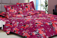 Cotton Printed King Size Bedding Set,Printed Bedding Set