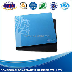 Promotional custom made rubber advertisement mousepad