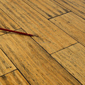 High Density click strand woven bamboo flooring natural color