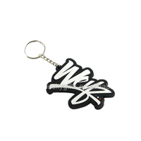 2018 high quality hot sales custom soft PVC make your own key chain