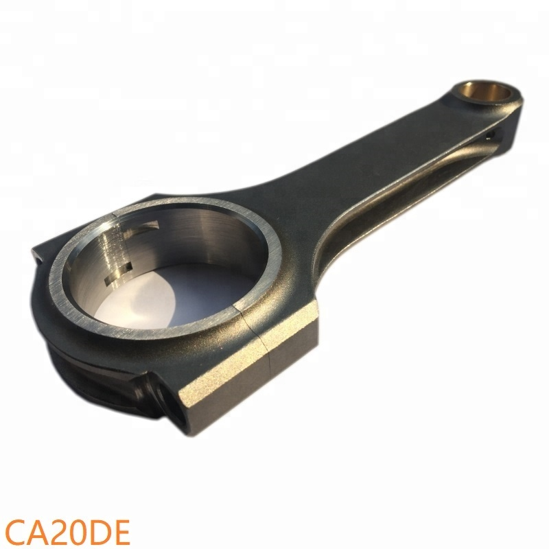 CA20E engine Pro E bolt 3 / 8 gauge crank <strong>best</strong> Beam H design <strong>connecting</strong> <strong>rod</strong> with forged steel billet 4340 material hone for sale