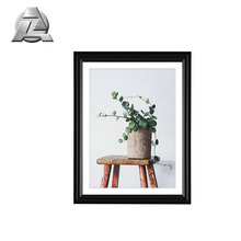8x10 import wholesale decorative black matte aluminum picture frames