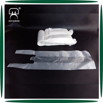 Disposable plastic bag for coffee cup single cup plastic bag