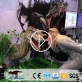 OA1714 Amusement Park Attractive Realistic Animatronic Dinosaur Head