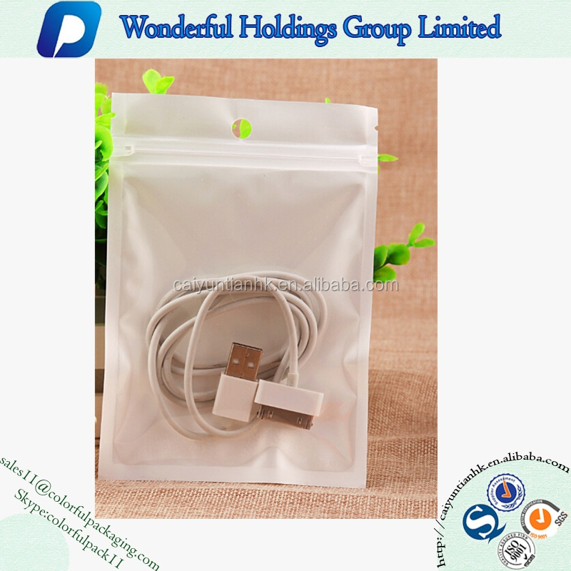 transparent plastic zip lock bag iphone 6 case / accessary packaging iphone 6 packaging