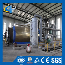 Used Plastic and Tires Pyrolysis Plant Recycling to Oil and Carbon Black
