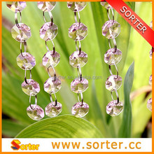 Wholesale new design crystal bead for curtains/room divider/hotel,club,party,wedding,home decor
