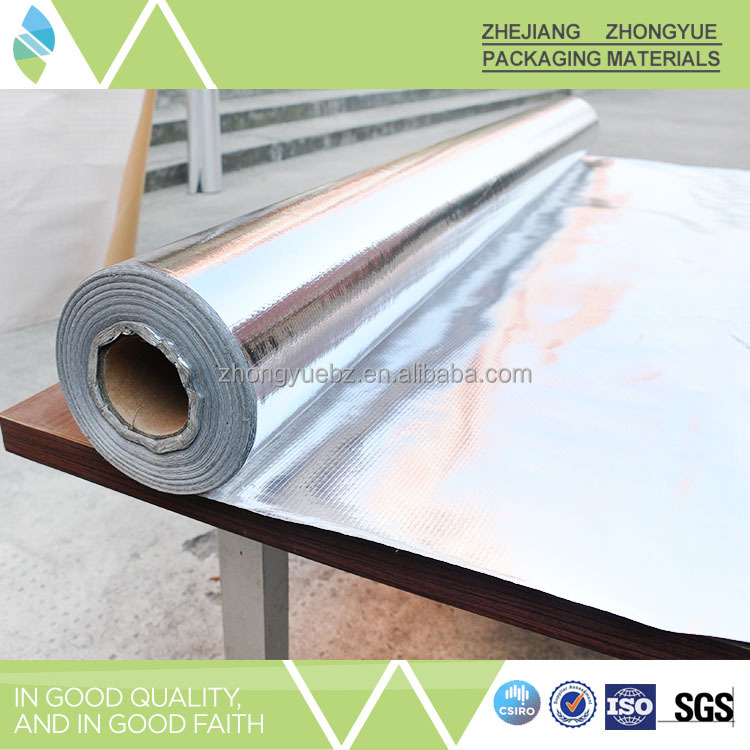 Alibaba China supplier double side aluminum foil roof insulation fabric