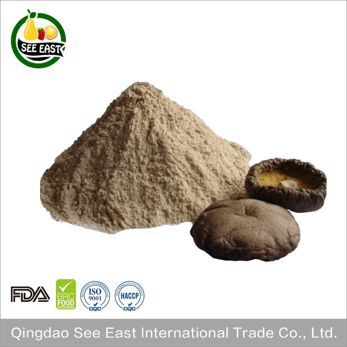 2016 Hot Sale Freeze Dried Shiitake Mushroom