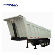 Mining usd semi dump trailer ,40ton-60tons rear tipping trailer for sale