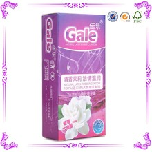 best quality china wholesale sex game box,sex condom carton box factory price