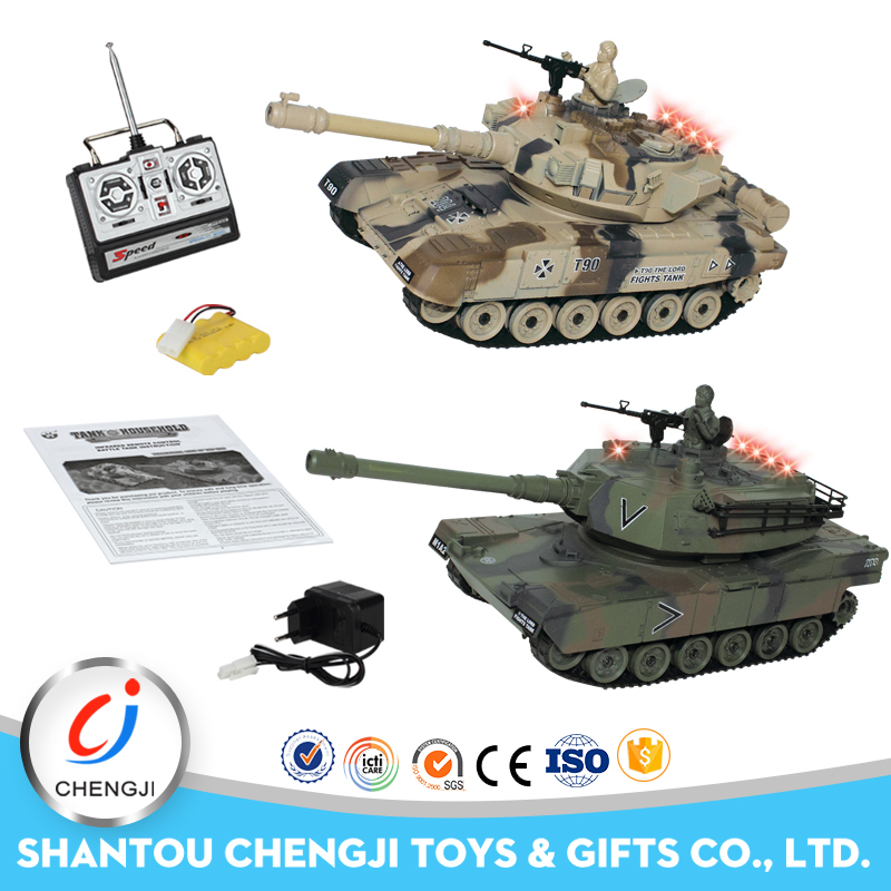 New fashion plastic infrared battle toy rc war tank