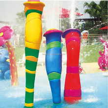 Aqua equipment used swimming pool slide water play games for kids