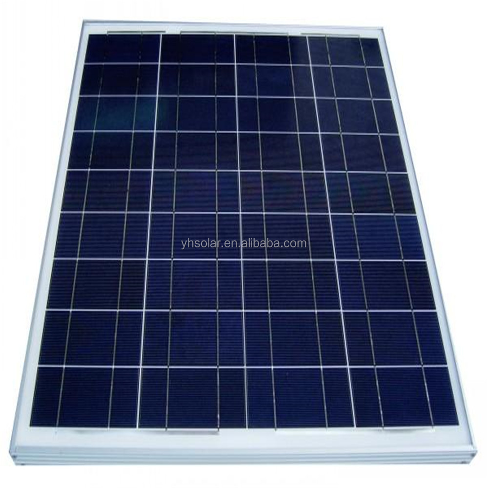 High efficient 100 watt poly panel solar