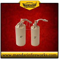 High quality 4 inch cylinder shells wholesale 1.3G display shells