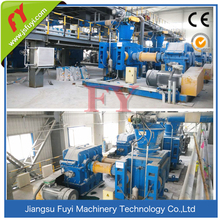 Twin roller feed granulator mill / fertilizer granule making machine / fertilizer pellet machine