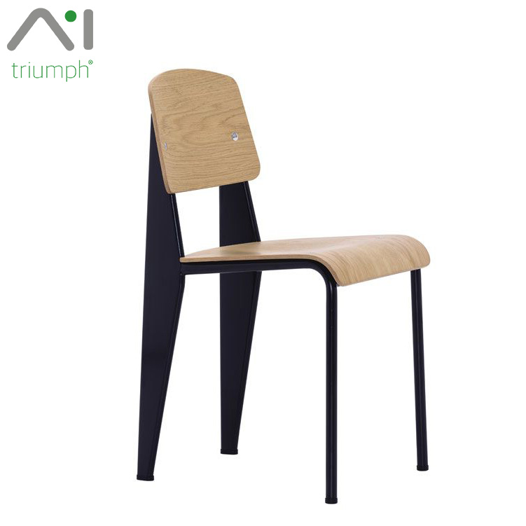 Triumph Stylish modern home furniture Jean Prouve standard wooden dining <strong>chair</strong> / cheap bentwood restaurant <strong>chairs</strong> for sale used