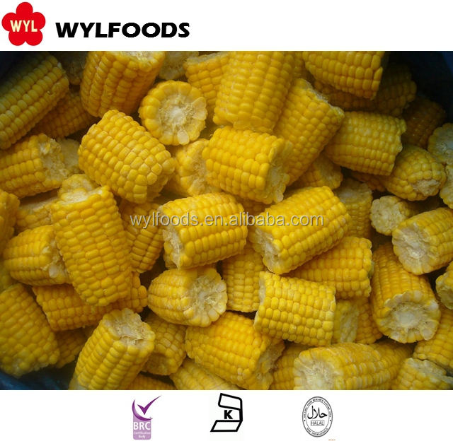 yellow corn in China Frozen IQF yellow corn kernels exporter good quality price