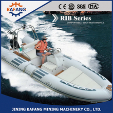 2015 Hot style! CE certificate,4.8m/8person/60 horsepower fiberglass rigid inflatable boats