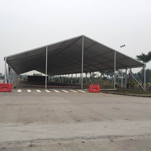 Guangzhou Top Quality Waterproof PVC Metal Frame Outdoor Canopy/large Size warehouse Exhibition Tent