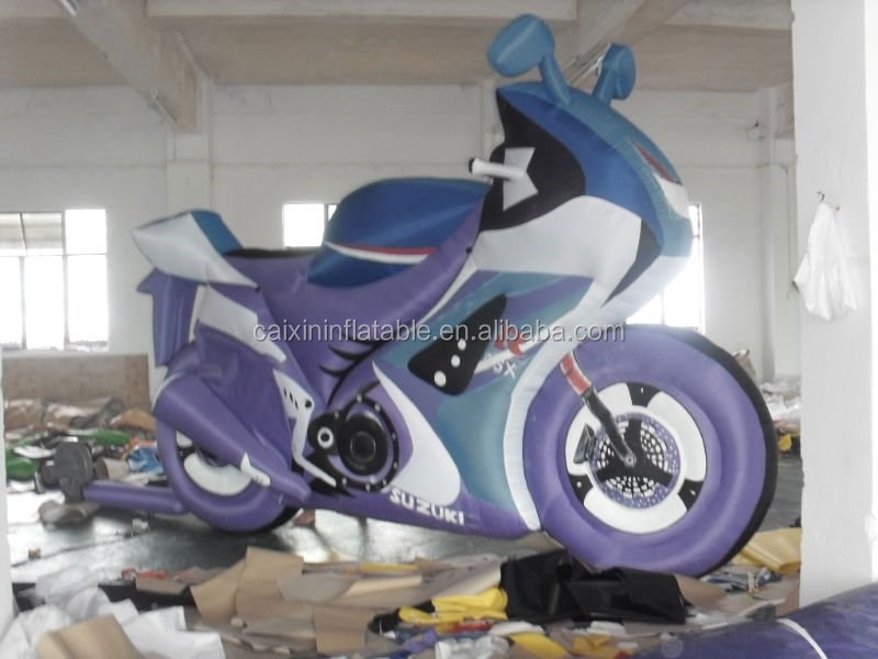 replicas inflatable motorcycle for promotional