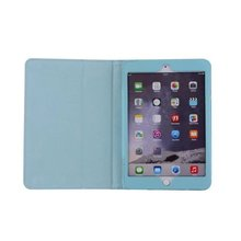 High quality PU leather case for ipad air 2 case for ipad 6 case