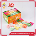 Delicious sweet packing box mini jam filled marshmallow color