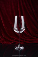350ml machine made Crystal Red Wine Glass