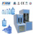 semi- automatic 5 gallon PET bottle making on stretch blow molding machine