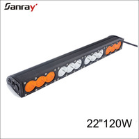 New off- Road LED Light Bar 22 inch 120W One Row Amber Off Road Light Bars