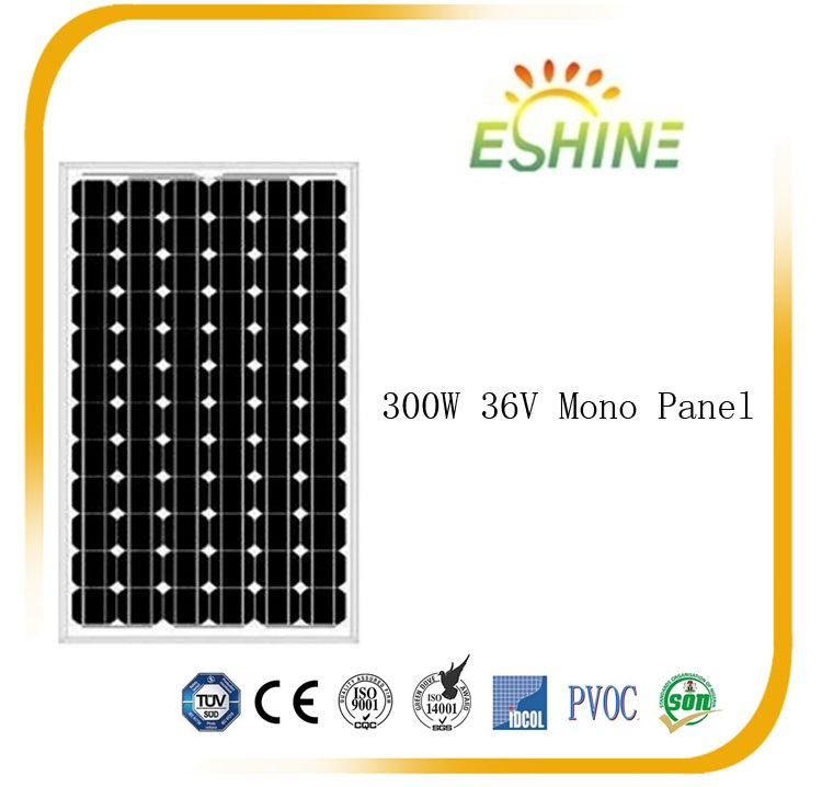 High efficiency Factory Top Quality 300W Mono Poly Canadian Solar Panel