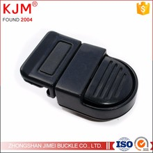 Bag accessories 1 inch plastic insert release lock buckle