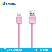 Wholesale High Quality 1M USB Data Charger Cable for iPhone 5 6 7 OEM Accept
