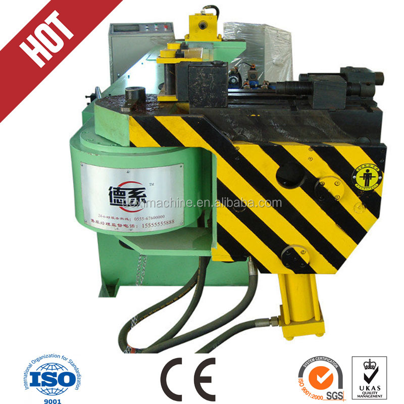 CE Certification 4 inch electric hydraulic pipe bender hand , semi-automatic stainless steel tube bender