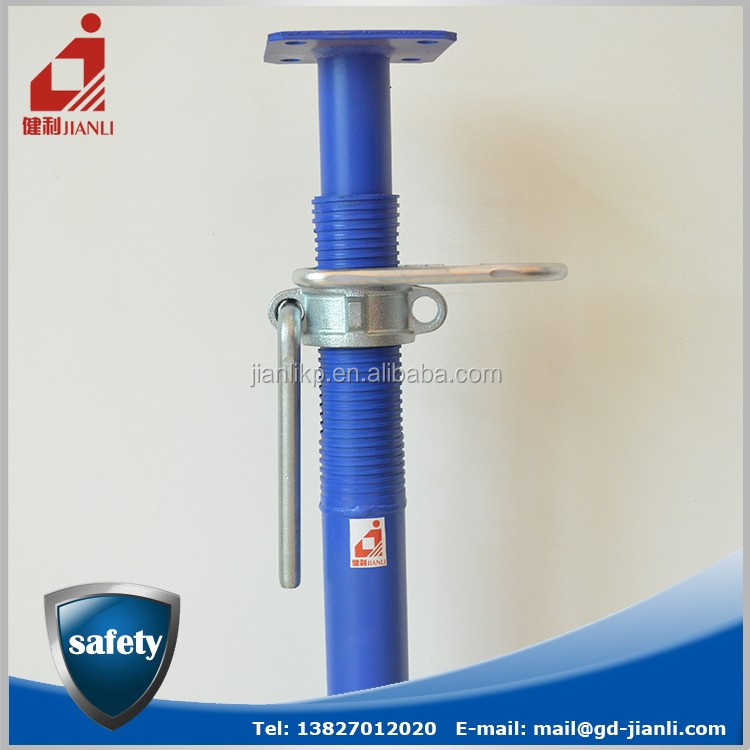 Heavy Duty Shoring Props Scaffolding for Pipe Supporting in Building Construction