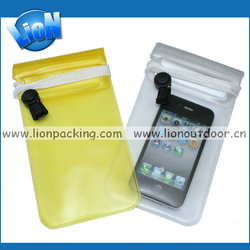 Hot New Pvc Water Proof Case Waterproof Phone Bag For All Phones waterproof dry bag
