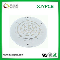 Aluminum PCB printed circuit boards and assembly for LED Light