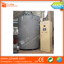 Vacuum gas nitriding and carburizing furnace