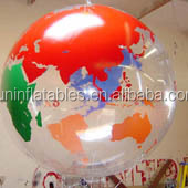 transparent Inflatable earth Balloon
