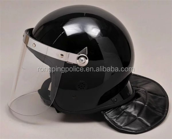 Stronger anti riot helmet with visor