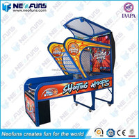 Factory Price Indoor Electric Arcade Machine 2 Player Basketball Shooting Game