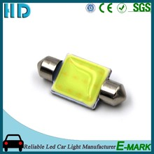 High brightness auto led dome light COB car reading light with T10 festoon accessory