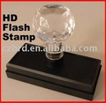 stock crystal handle office flash stamps