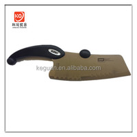 DK-183 new design stainless steel Chinese cleaver obsidian kitchen knife