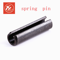 Black Spring straight coupling pins and Slotted elastic pin