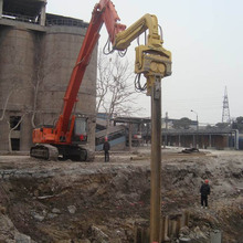 hydraulic bore pile machine,piling machine for digger