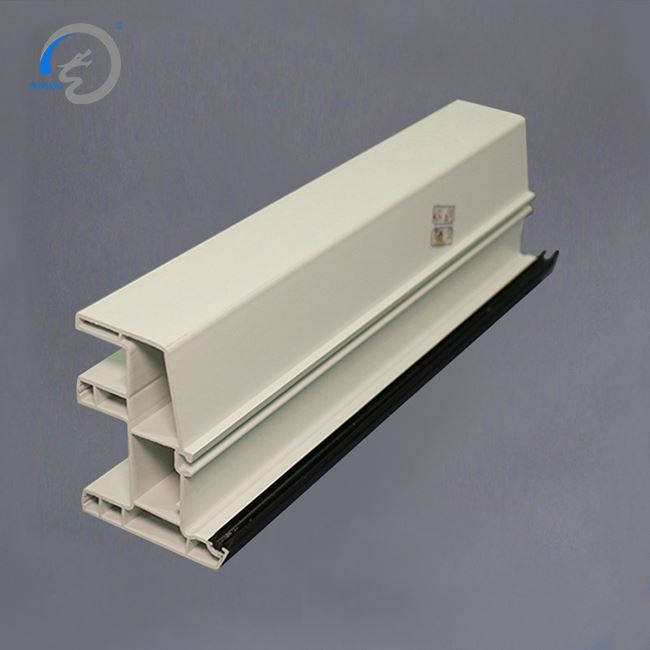 China Manufacturer Offer Pvc 4 Track Sliding Door Profile White Upvc Window Profile