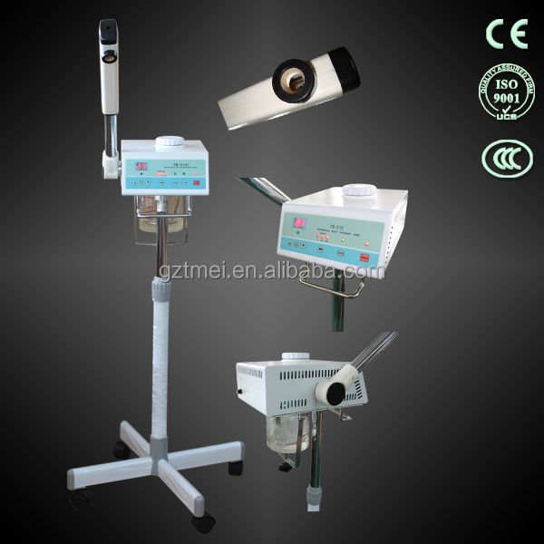 TM-818,portable facial steamer with ozone/hot and cold facial steamer machine